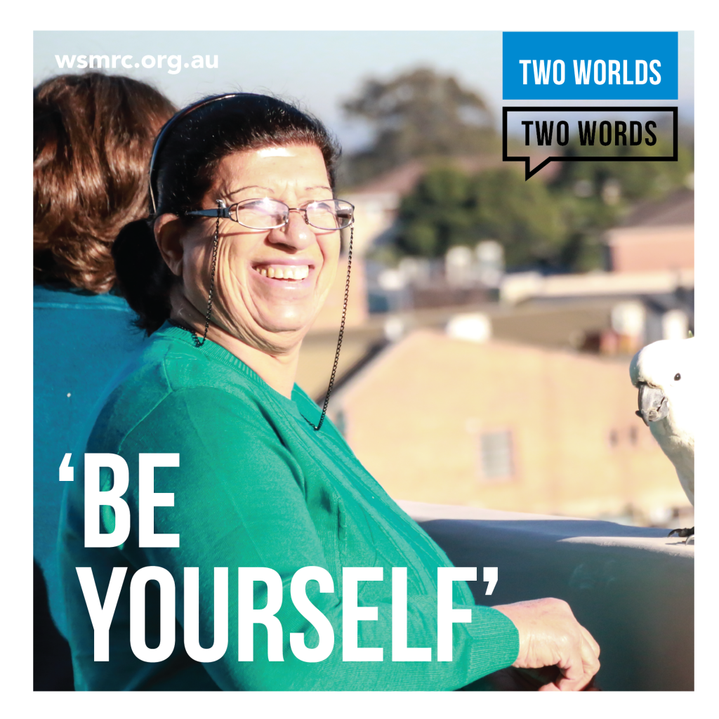 2 Worlds 2 Words Brochure - Be Yourself