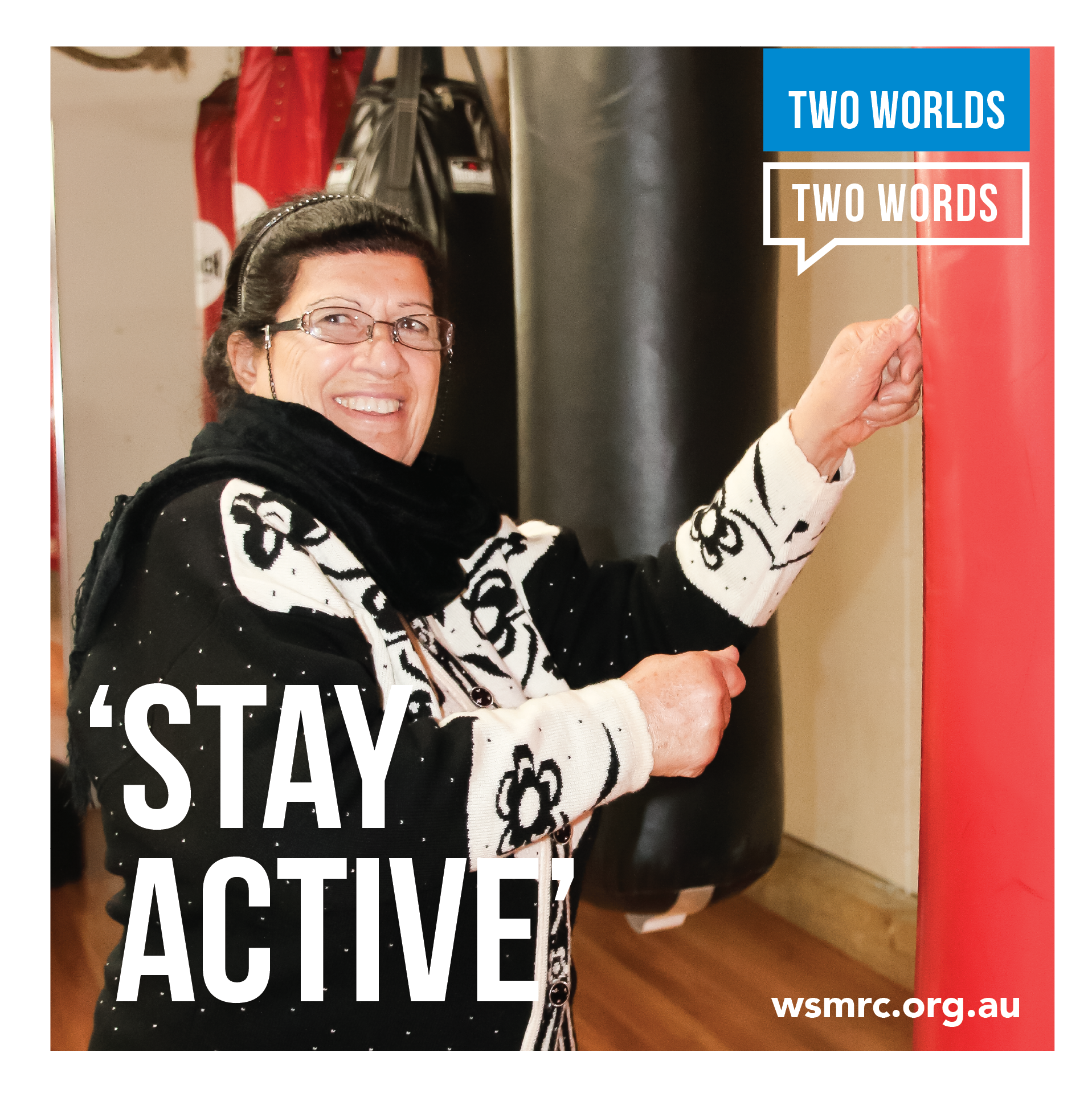 2 Worlds 2 Words Brochure - Stay Active